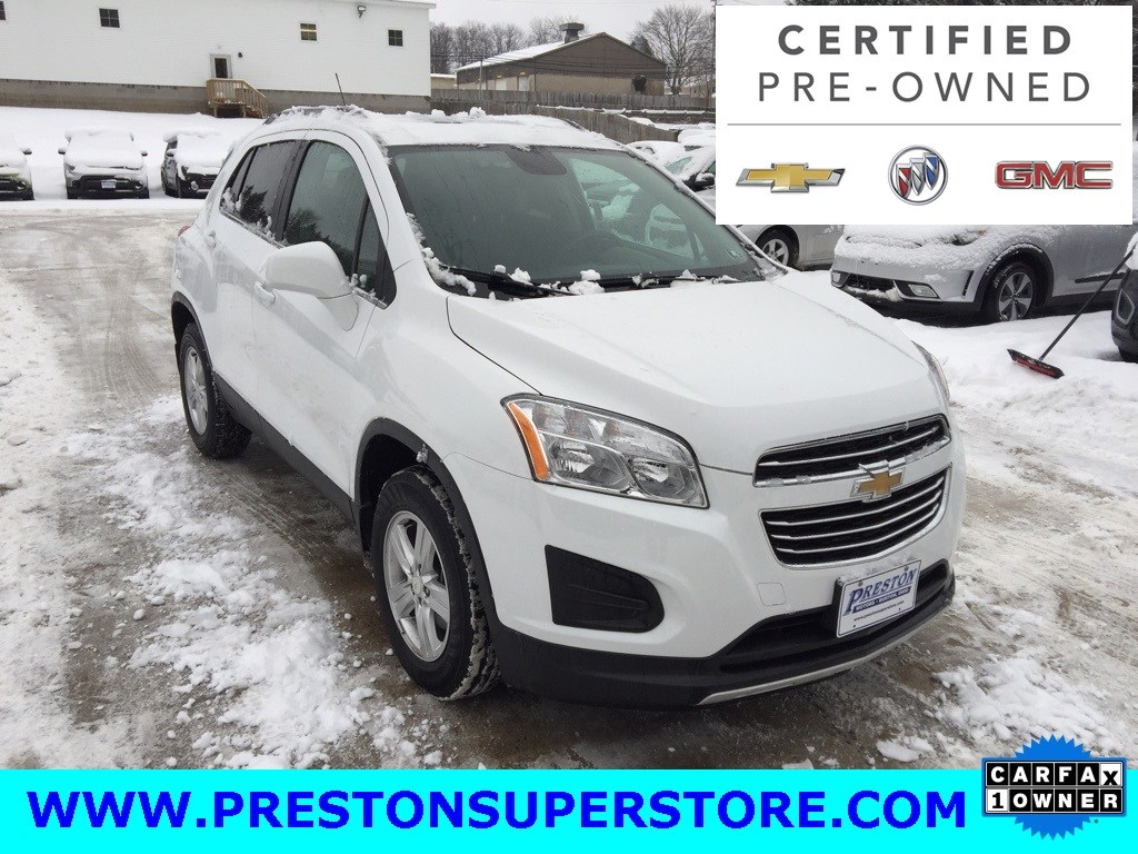 Photo Certified Used 2016 Chevrolet Trax 1LT SUV in Burton, OH