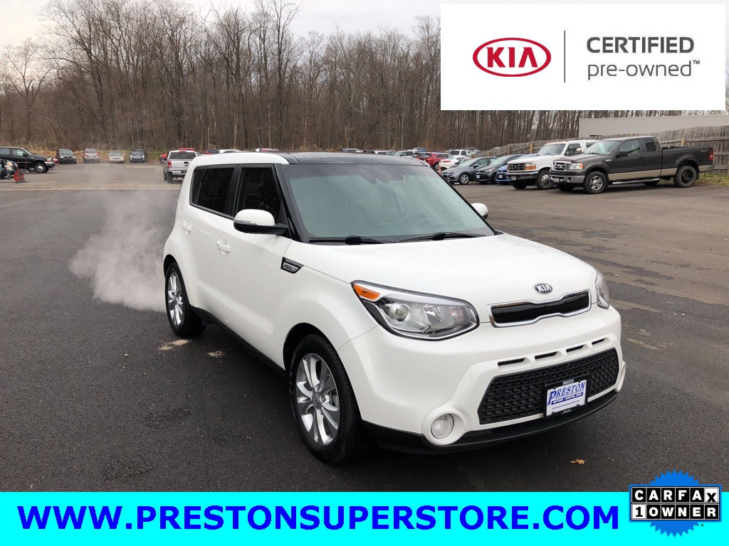 Photo Certified Used 2016 Kia Soul Exclaim Hatchback in Burton, OH