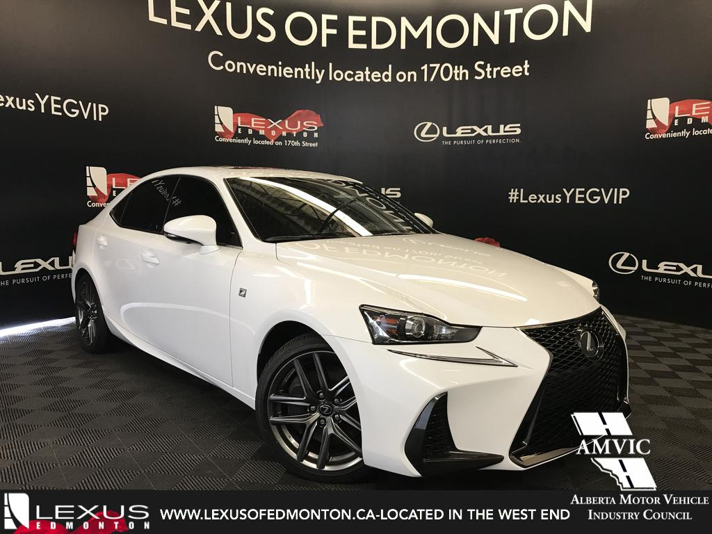 Photo Pre-Owned 2017 Lexus IS 300 DEMO UNIT - F SPORT SERIES 1 All Wheel Drive 4 Door Car