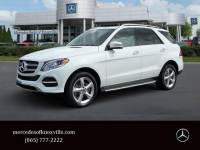 Pre-Owned 2017 Mercedes-Benz GLE 350 4MATIC® SUV AWD 4MATIC®