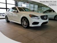 Certified Pre-Owned 2015 Mercedes-Benz E-Class E 350 4MATIC Sedan For Sale St. Louis, MO