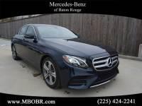 Certified Pre-Owned 2017 Mercedes-Benz E 300 Sport Rear Wheel Drive SEDAN