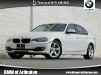 2015 BMW 320i Sedan Rear-wheel Drive