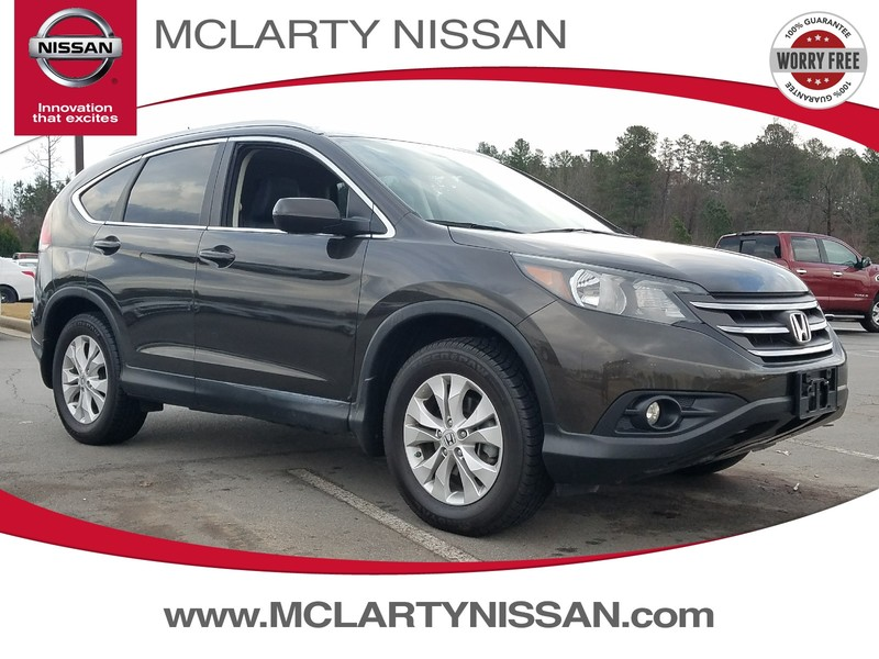 Photo Pre-Owned 2013 HONDA CR-V 2WD 5DR EX-L Front Wheel Drive Sport Utility Vehicle