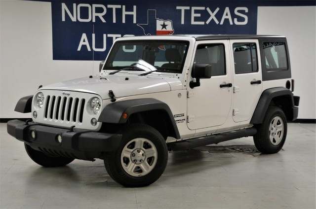 Photo 2014 Jeep Wrangler Unlimited Sport Right Hand Drive
