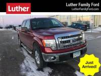 2014 Ford F-150 4WD Supercrew 145 XLT Truck SuperCrew Cab V-8 cyl