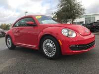 Certified Pre-Owned 2015 Volkswagen Beetle 1.8T w/PZEV Coupe For Sale Leesburg, FL
