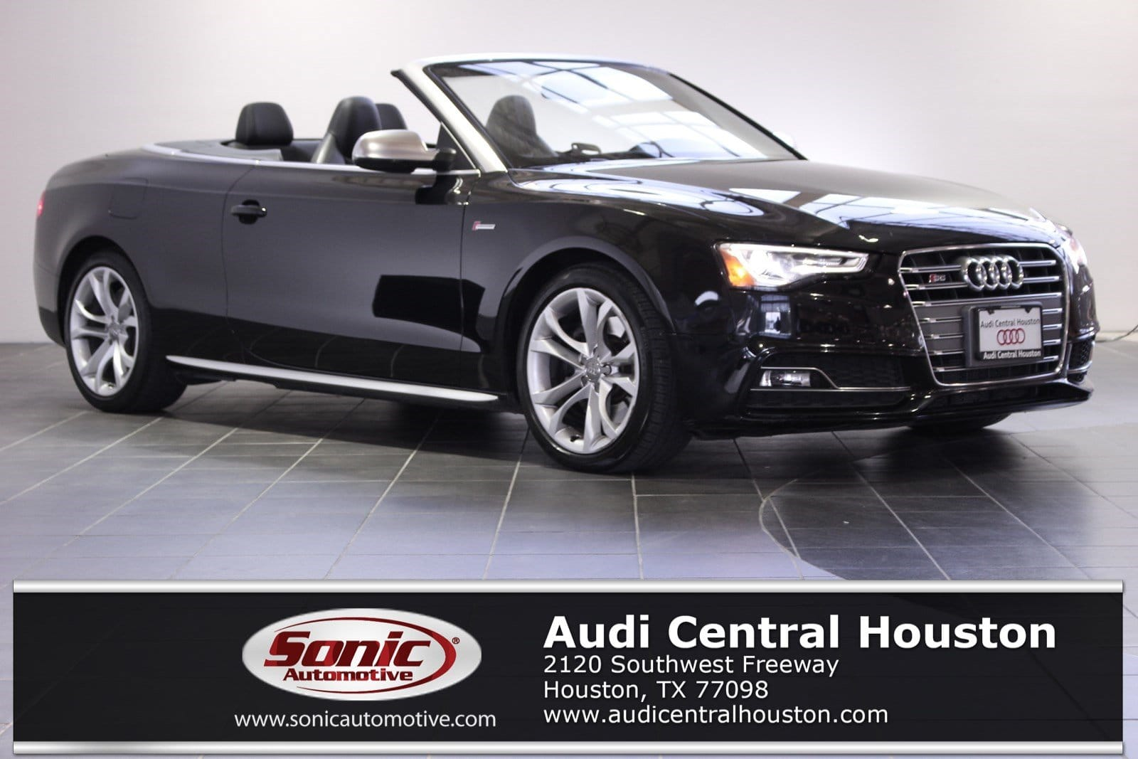 Photo Certified Used 2014 Audi S5 3.0T Cabriolet in Houston, TX