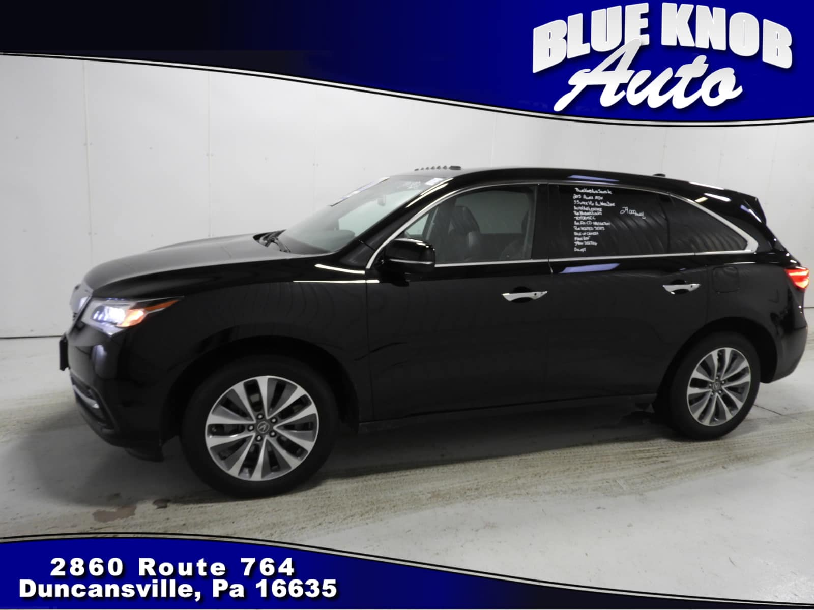 2015 Acura MDX Technology Package SUV in Duncansville | Serving Altoona, Ebensburg, Huntingdon, and Hollidaysburg PA