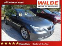 Pre-Owned 2009 BMW 5 Series 4dr Sdn 528i RWD RWD 4dr Car