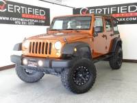 2010 Jeep Wrangler Unlimited UNLIMITED SPORT TRAIL RATED 4WD RUNNING BOARDS LIFT KIT TOW HOOKS AUTOMATIC
