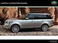 2017 Land Rover Range Rover HSE Sport Utility