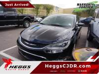 CERTIFIED PRE-OWNED 2015 CHRYSLER 200 C FWD 4D SEDAN