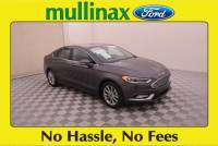 Used 2017 Ford Fusion SE Sedan I-4 cyl in Kissimmee, FL