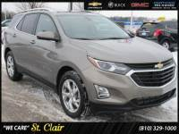 Certified Pre-Owned 2018 Chevrolet Equinox LT Sport Utility For Sale Saint Clair, Michigan