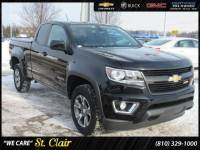 Certified Pre-Owned 2015 Chevrolet Colorado 4WD Z71 Standard Bed For Sale Saint Clair, Michigan
