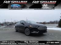 Certified Pre-Owned 2017 Ford Fusion Titanium FWD Sedan