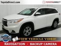 2014 Toyota Highlander XLE V6 SUV Front-wheel Drive