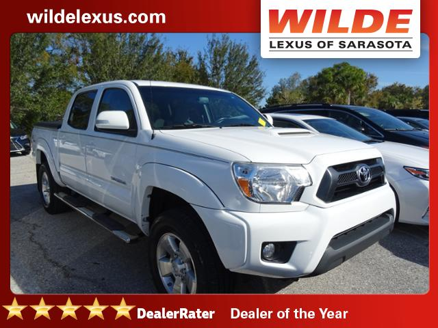 Pre-Owned 2012 Toyota Tacoma 2WD Double Cab V6 AT PreRunner RWD Crew Cab Pickup