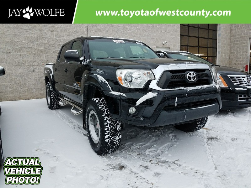 Certified Pre-Owned 2014 TOYOTA TACOMA 4WD DOUBLE CAB V6 AT Four Wheel Drive Double Cab
