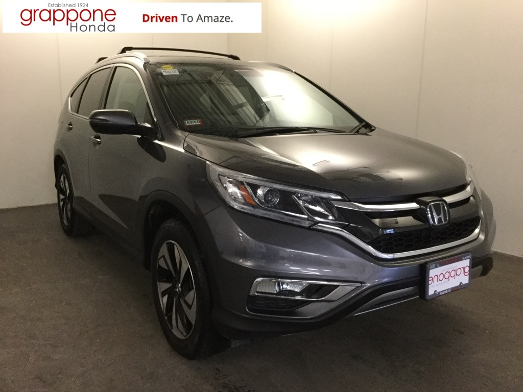 Certified Pre-Owned 2015 Honda CR-V Touring with Navigation & AWD