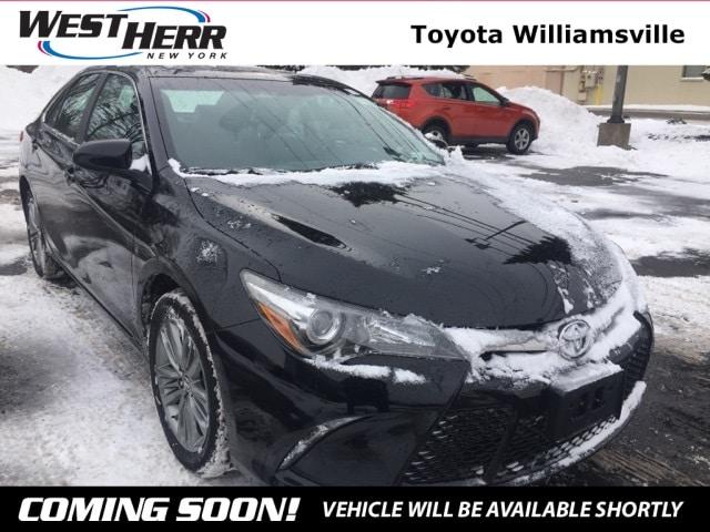 2015 Toyota Camry SE Sedan For Sale - Serving Amherst