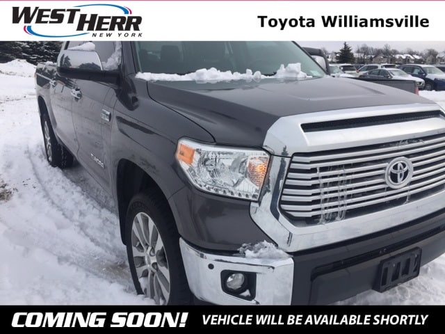 Photo 2015 Toyota Tundra Limited Truck CrewMax For Sale - Serving Amherst