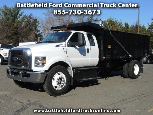 Photo 2018 Ford F-650 SuperCab w16 Landscape Dump