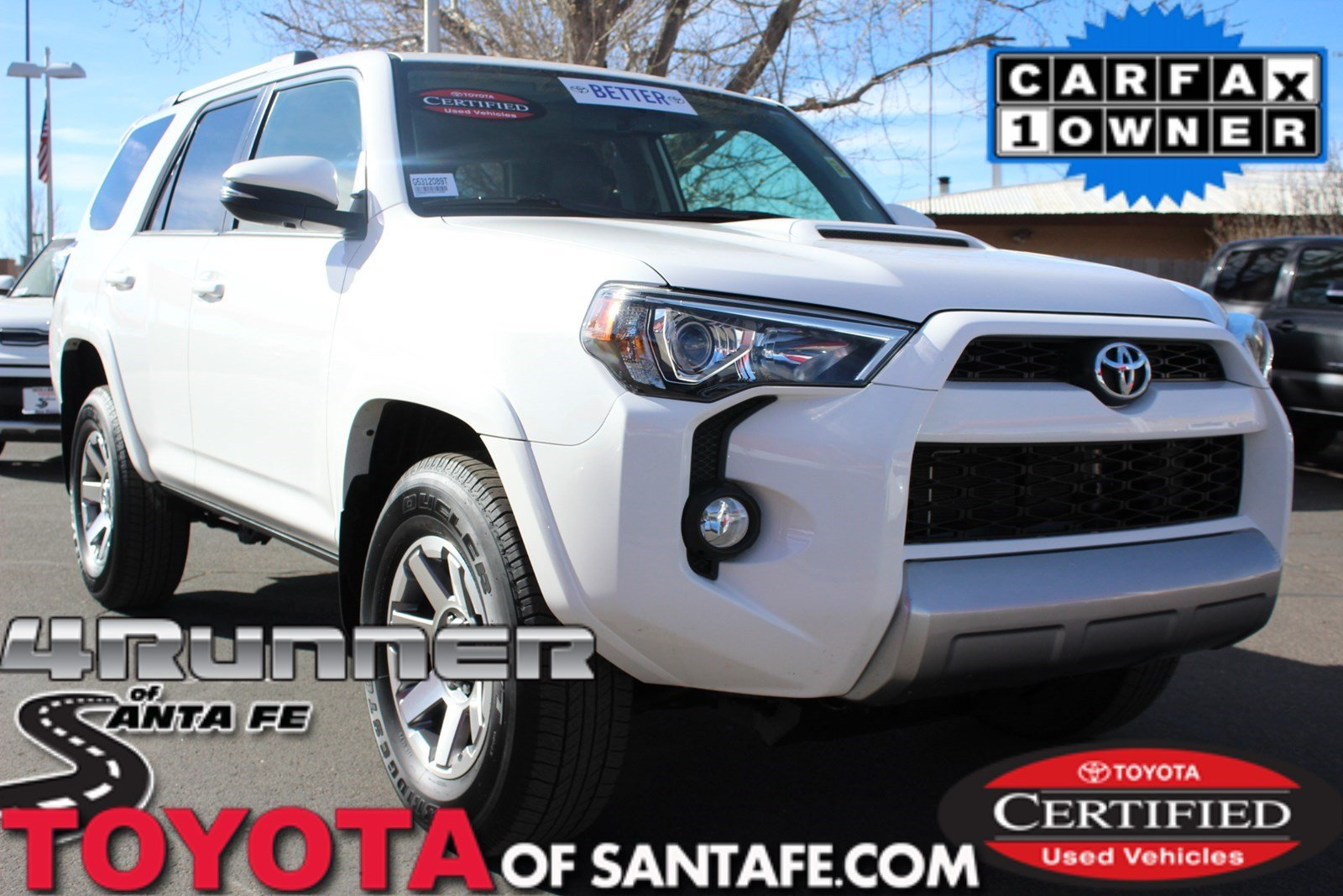 Certified Pre-Owned 2016 Toyota 4Runner SR5 With Navigation & 4WD