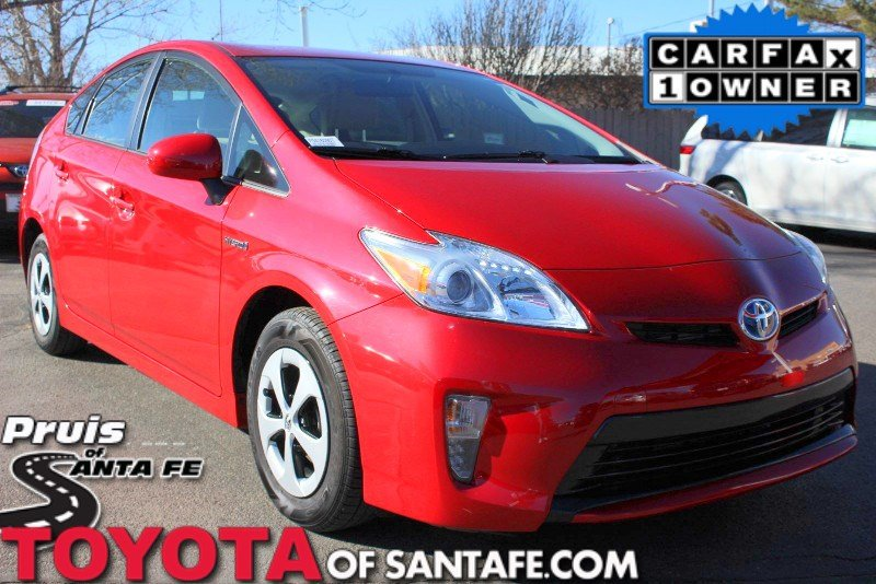 Certified Pre-Owned 2015 Toyota Prius STD With Navigation