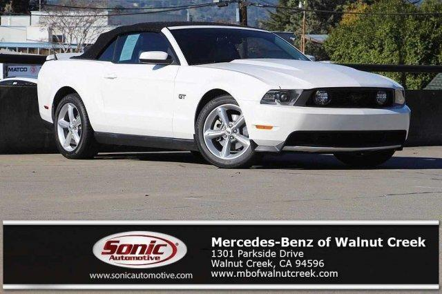 Used 2010 Ford Mustang 2dr Conv GT