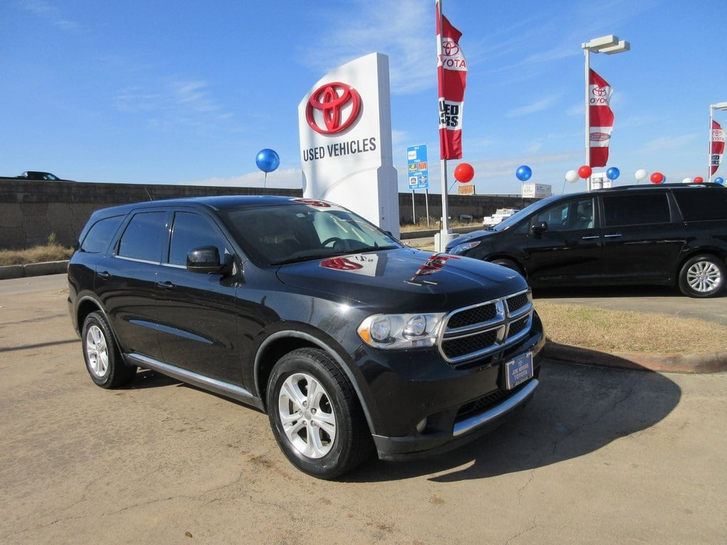Used 2012 Dodge Durango SXT SUV RWD For Sale in Houston