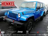 PRE-OWNED 2016 JEEP WRANGLER UNLIMITED RUBICON HARD ROCK 4X4 4WD