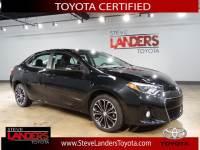 2016 Toyota Corolla S Plus Sedan 4-Speed Automatic