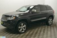 Pre-Owned 2013 Jeep Grand Cherokee 4WD 4dr Overland Four Wheel Drive SUV