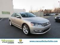 Certified Pre-Owned 2014 Volkswagen Passat SEL Premium FWD Sedan