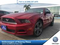 2013 Ford Mustang V6 Coupe Rear Wheel Drive