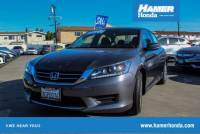 Certified Pre-Owned 2015 Honda Accord LX FWD 4D Sedan