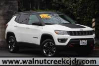 Certified Used 2017 Jeep Compass All New Trailhawk Sport Utility 4D SUV in Walnut Creek