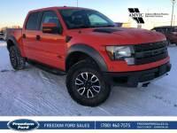 Used 2012 Ford F-150 SVT Raptor Leather, Navigation, Sunroof Four Wheel Drive 4 Door Pickup