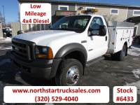 Used 2005 Ford F-550 4x4 Service Utility Truck