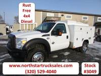 Used 2012 Ford F-450 4x4 Service Utility Truck
