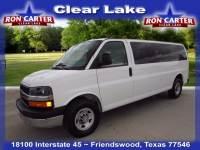 2016 Chevrolet Express LT w/1LT Extended 15 Passenger Van near Houston