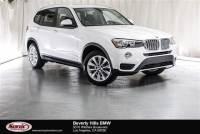 Certified Used 2017 BMW X3 SAV in Los Angeles, CA