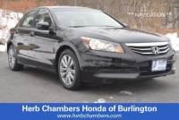 Used 2012 Honda Accord EX-L Sedan in Burlington, MA