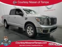 Certified 2017 Nissan Titan SV Truck Crew Cab in Jacksonville FL