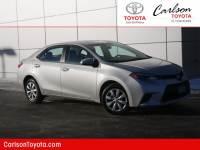 2014 Toyota Corolla CVT LE Sedan Front-wheel Drive