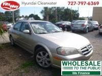 Used 2002 Nissan Maxima for Sale in Clearwater near Tampa, FL