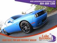Certified Used 2015 Dodge Challenger R/T Scat Pack Coupe For Sale NearAnderson, Greenville, Seneca SC