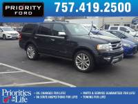 Used 2015 Ford Expedition Platinum SUV V-6 cyl For Sale at Priority